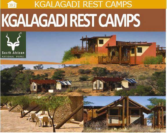 Kgalagadi Rest Camps Kgalagadi Transfrontier Park